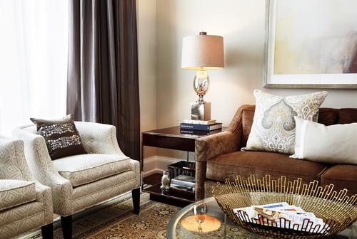 modern orland park living room