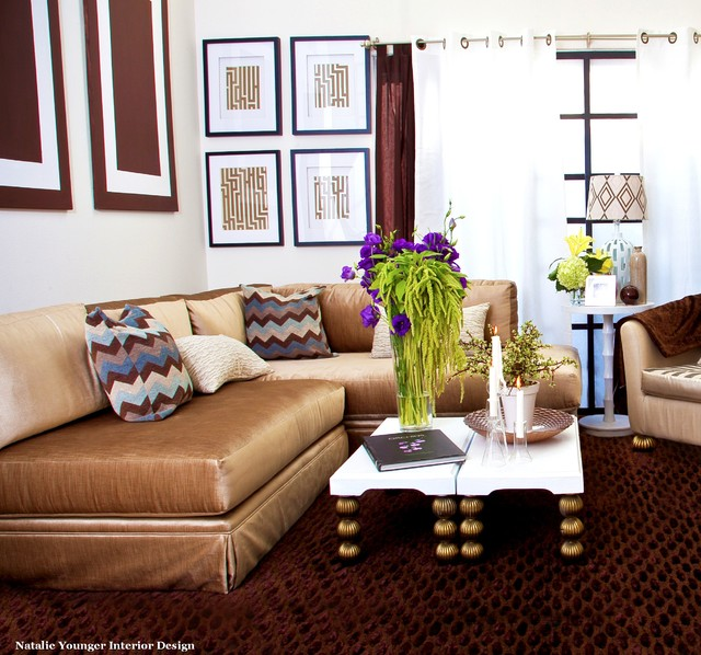 Marvelous Contemporary Living Room By Natalie Younger Interior Design, Allied ASID