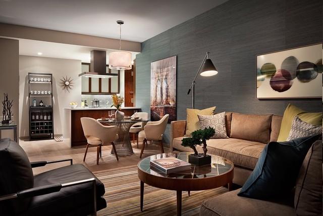 Eclectic apartment for Manhattan interior decorators
