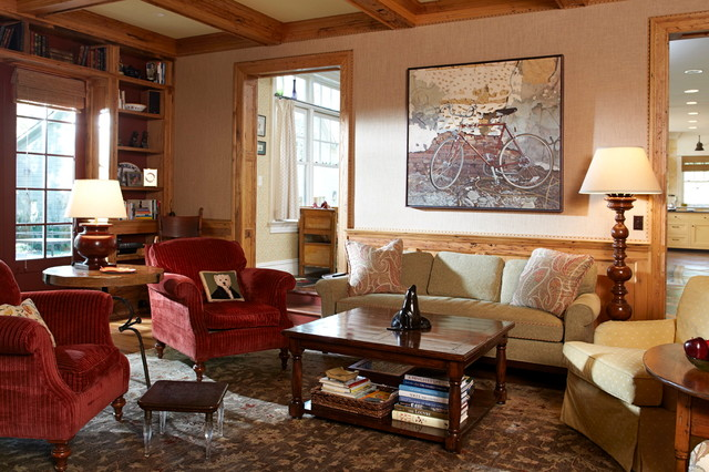 Eclectic traditional living room new york by for Traditional eclectic living rooms