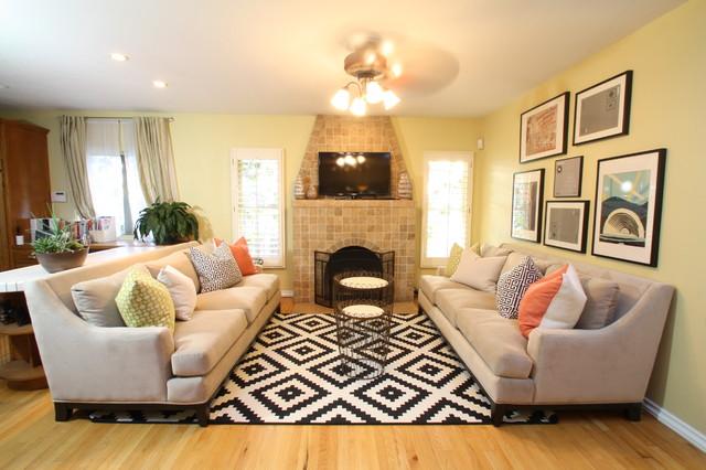 Bohemian in kensington for Eclectic bohemian living room