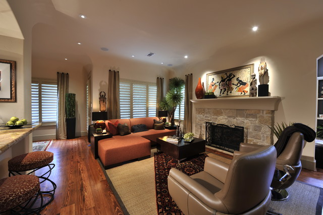 Eclectic interior design traditional living room for Traditional eclectic living rooms