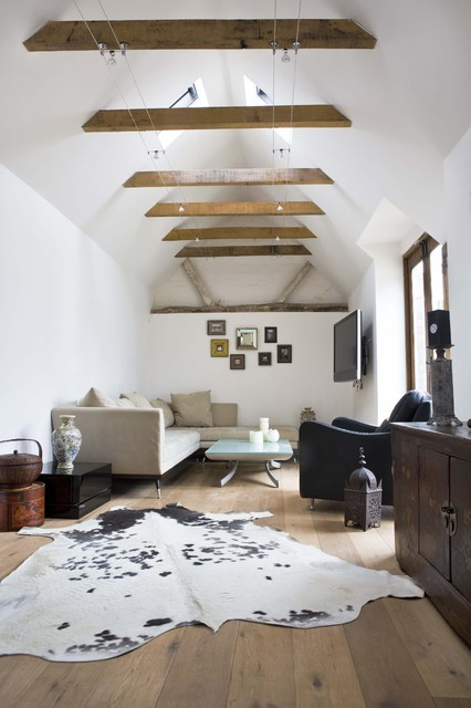 Eclectic Living Room farmhouse-living-room