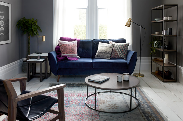 Eclectic Living Room By French Connection Aw 17