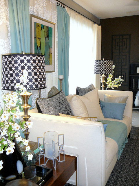 RESTYLED RESOLUTIONS eclectic-living-room