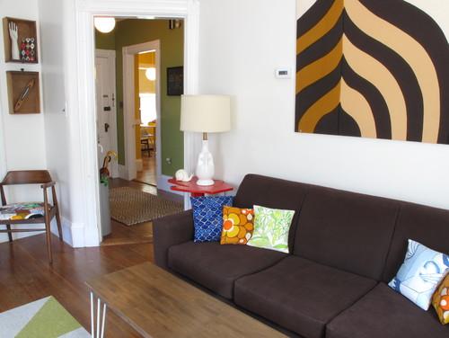 living room towards hall