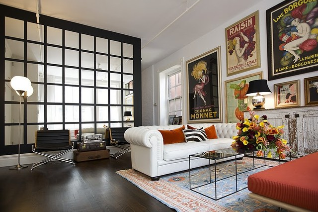 Soho Loft eclectic-living-room