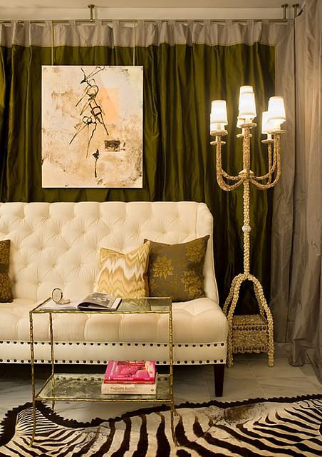 huntley & co. | Spirited Refinement eclectic-living-room