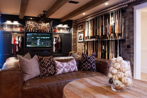 Boys Baseball Themed Room