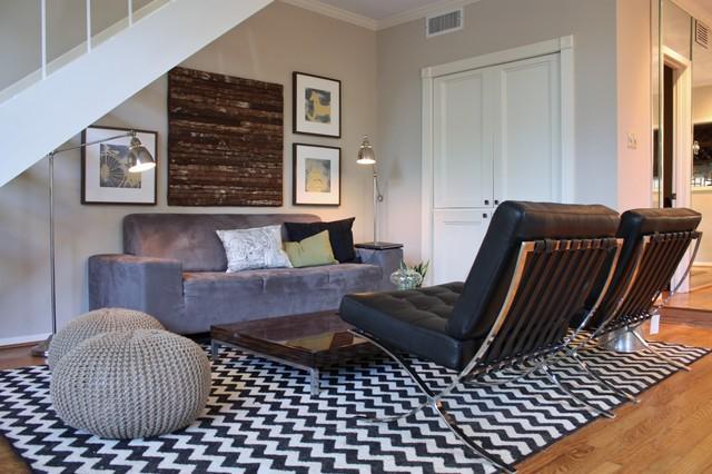 Living Room Update eclectic-living-room