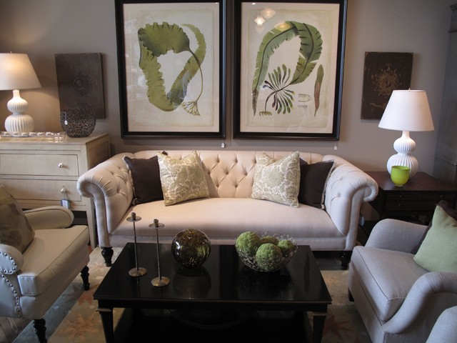 Dee Dee Littrell eclectic living room