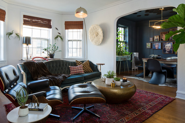 Andersonville Eclectic Living Room Chicago By