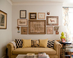 Brooklyn, Co-op eclectic-living-room