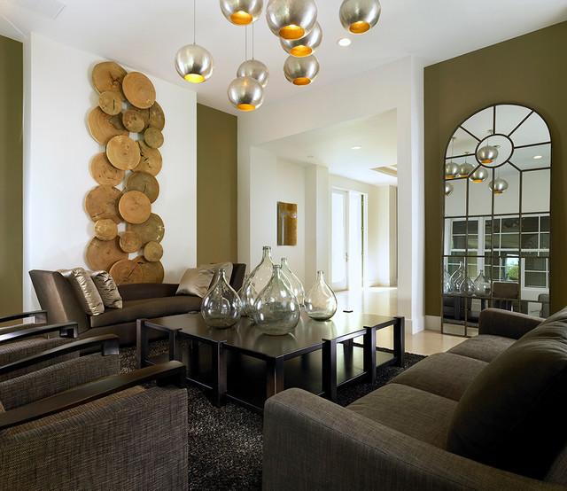 Eco Elegant contemporary-living-room