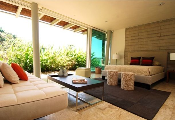 Eco Friendly Project In The Mexican Riviera Modern Living Room Part 40