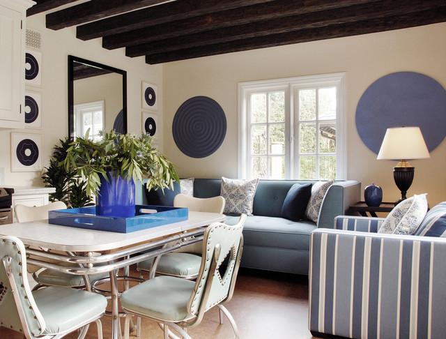 Eco Friendly Tuscan Estate Modern Living Room