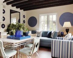 Eco-Friendly Tuscan Estate modern-living-room