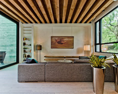 Ecologia Montreal contemporary living room