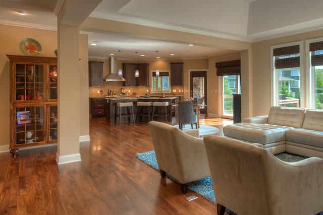 Eden Prairie Mn New Home Traditional Living Room