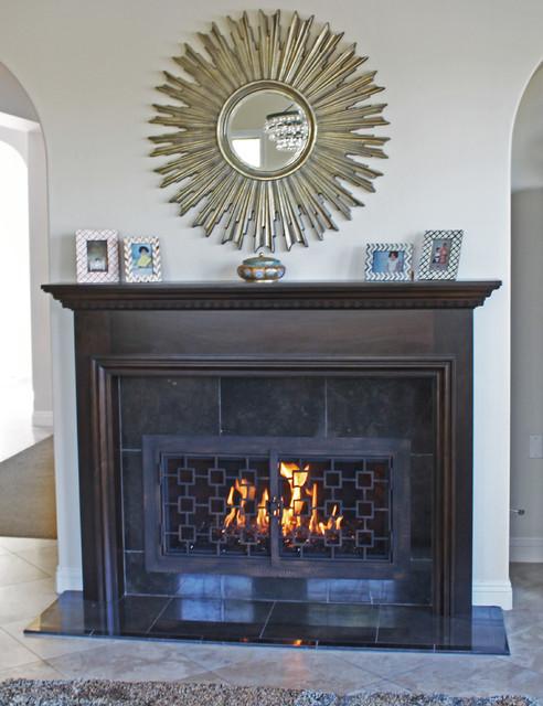 Edgewood Revamp Transitional Living Room San Diego By Fireside Design Center