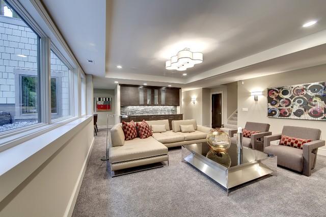 Edina on Parade transitional-living-room