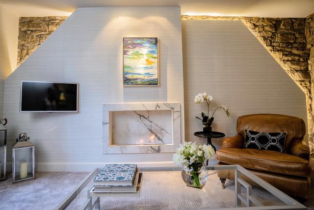 Edinburgh apartment contemporary living room other for Room interior design edinburgh