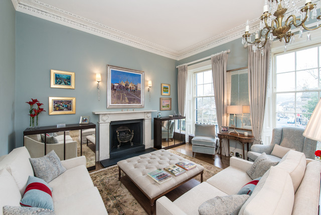 duck egg and cream living room edinburgh drawing room 25177