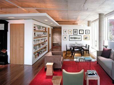 Edward I. Mills + Associates contemporary-living-room