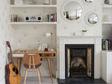 contemporary living room Tempted to Try Wallpaper? 10 Tips for Finding the Right Pattern (12 photos)
