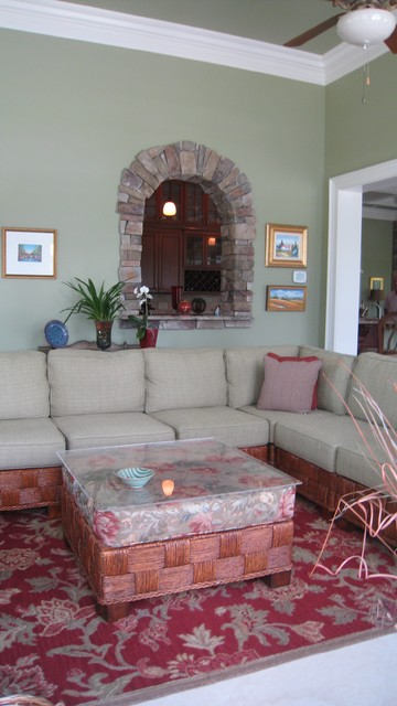Egan traditional living room