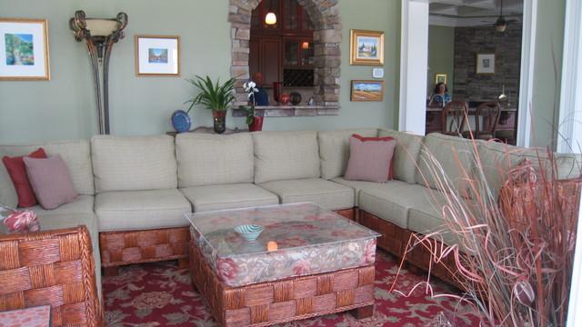 Egan traditional-living-room
