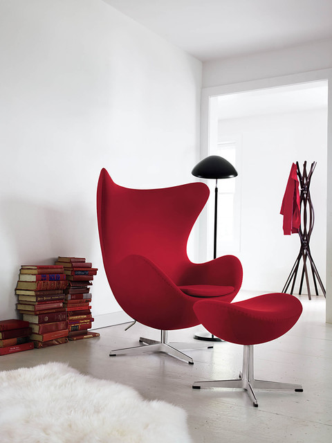 Egg Chair | Designed by Arne Jacobsen modern living room