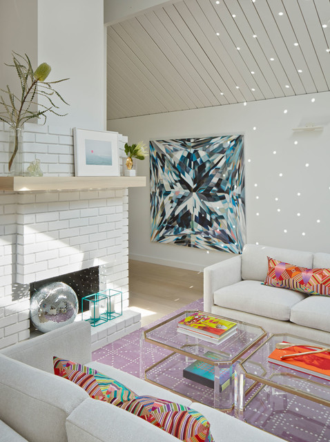 Alison Damonte Design Interior Designers & Decorators. Eichler's Disco  midcentury-living-room