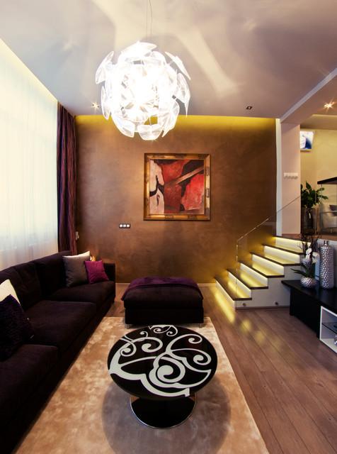 EJ Residence contemporary-living-room