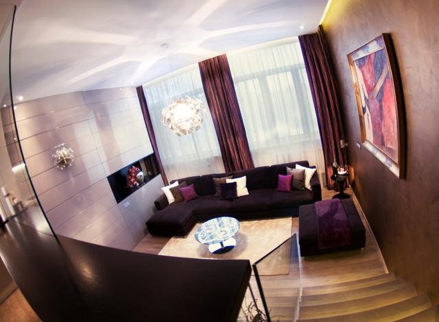 EJ Residence modern-living-room