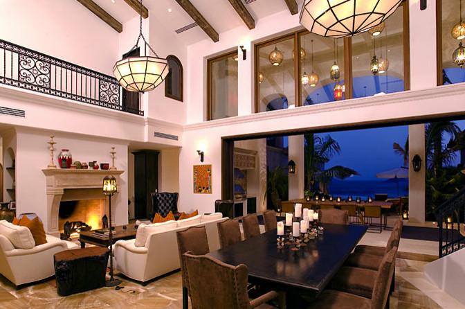 El Dorado Cabo San Lucas Eclectic Living Room Los Angeles By Hancock Design
