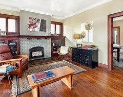 Eleanor Street #1 transitional-living-room