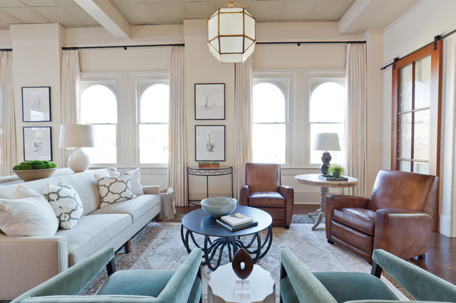 Elegant Downtown Loft - Classique Chic - Salon - Atlanta - par ...