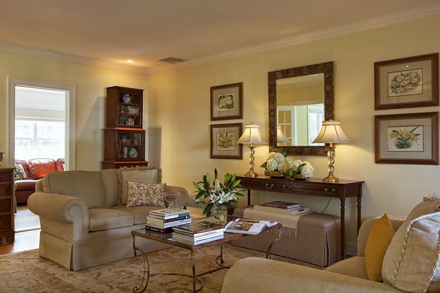 Elegant Edgemont by B Fein Interiors eclectic-living-room