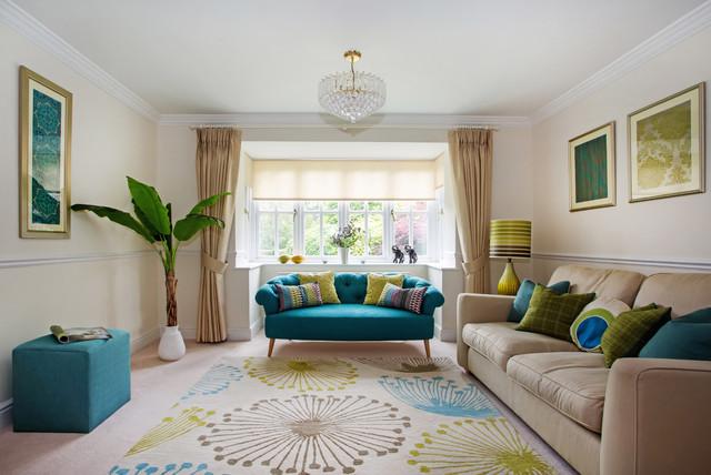 Elegant Living Room contemporary-living-room