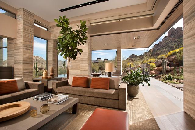 elegant modern at estancia  living room  view  modern