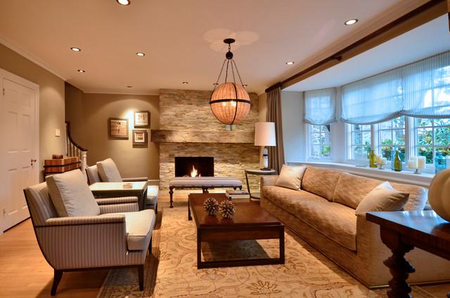 Elegant Rustic Living Room