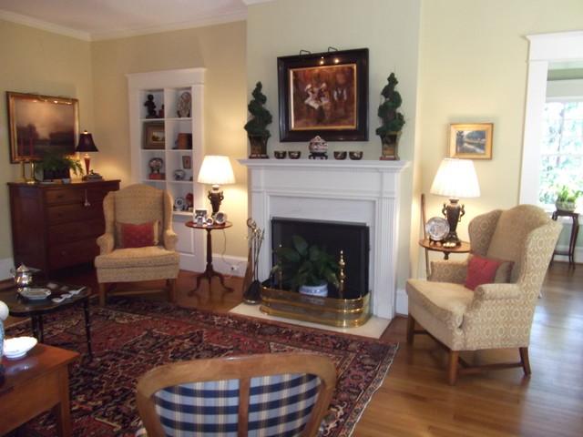 Elegant traditional living room for Elegant traditional living rooms