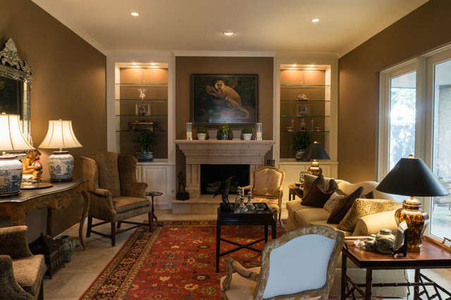 Elegant traditional townhouse traditional living room for Elegant traditional living rooms