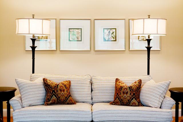 Elegant transitional family room traditional-living-room