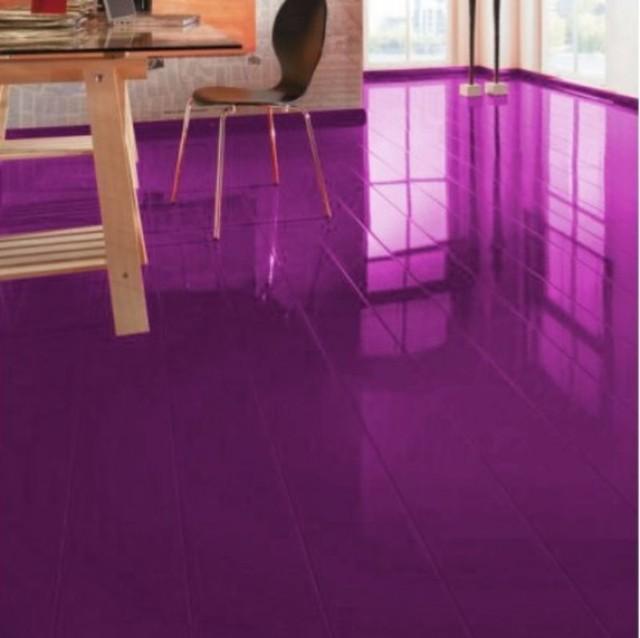 Elesgo Supergloss Es Violet Laminate Flooring 772304 Contemporary