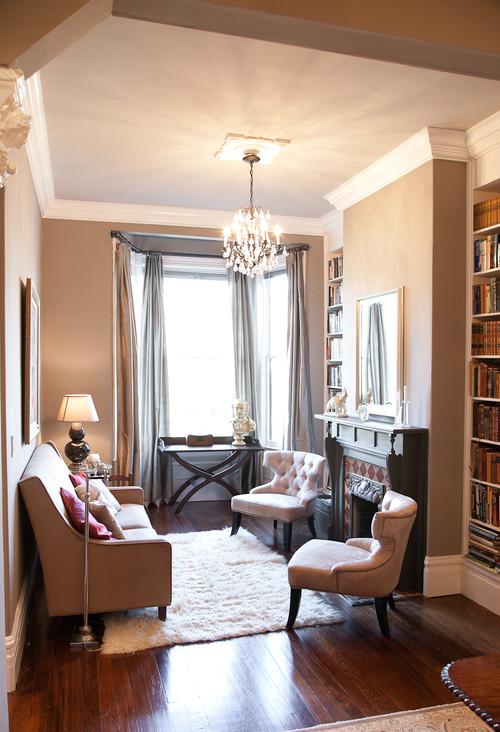Broderick Street Residence  living room