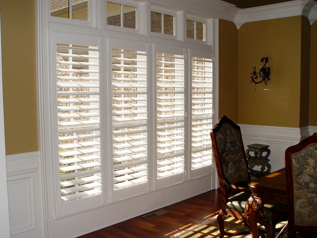 Elite clear view shutter designs contemporary living for Window shutter designs