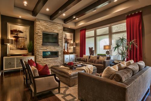 Photo By Falcone Hybner Design, Inc.   Discover Living Room Design  Inspiration