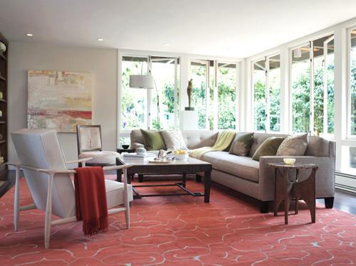 elle decor home tour  modern  living room  other metro
